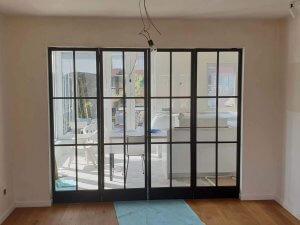 Glazen Deuren Limburg.Stalen Deuren Met Glas Volledig Op Maat Pglas Interieurglas