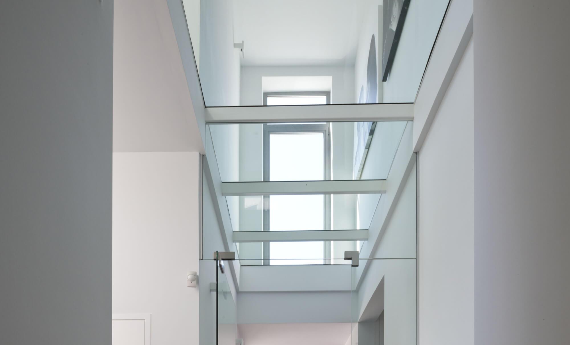 Pglas - Glazen vloer in helder gelaagd glas