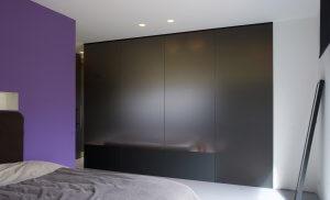 Pglas - Glazen wand dark grey