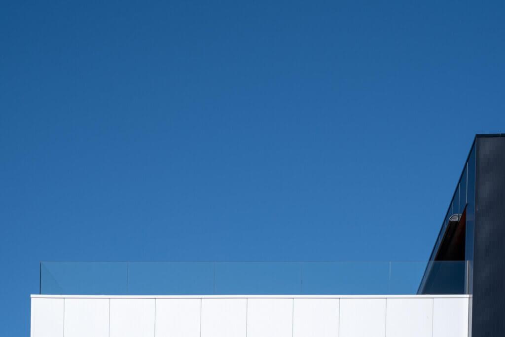balustrade glasklem