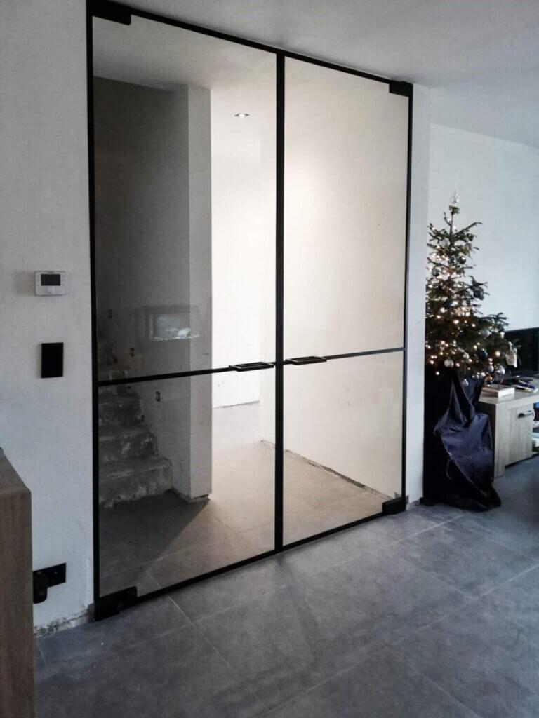 Dubbele steellook deur ozone cosmic200 horizontaal