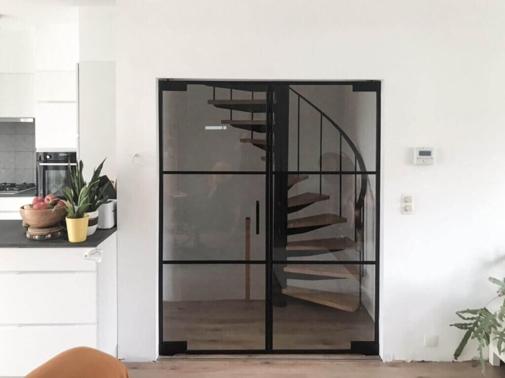 Dubbele steellook deur ozone cosmic200 verticaal