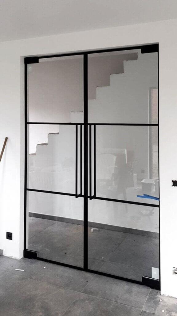 Dubbele steellook deur ozone cosmic 800