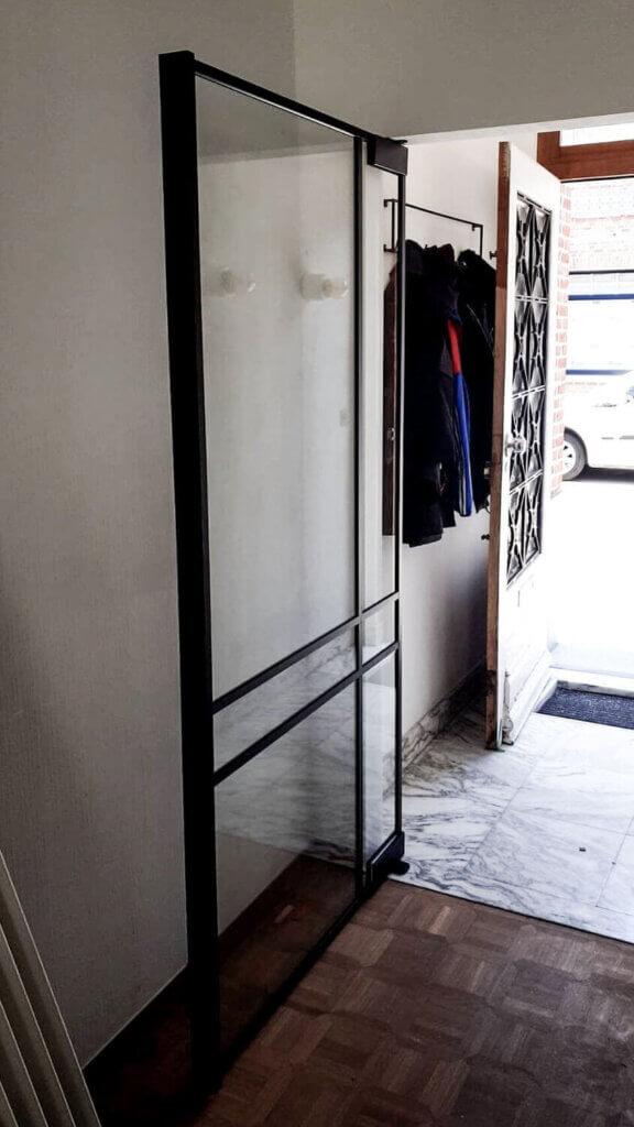 Steellook deur ozone ugreep deurhoog in kader dubbel asymmetrisch kruis