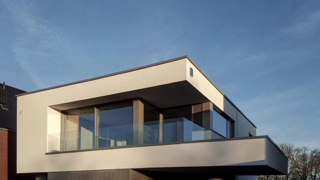 balustrade in glasklem helder glas 100